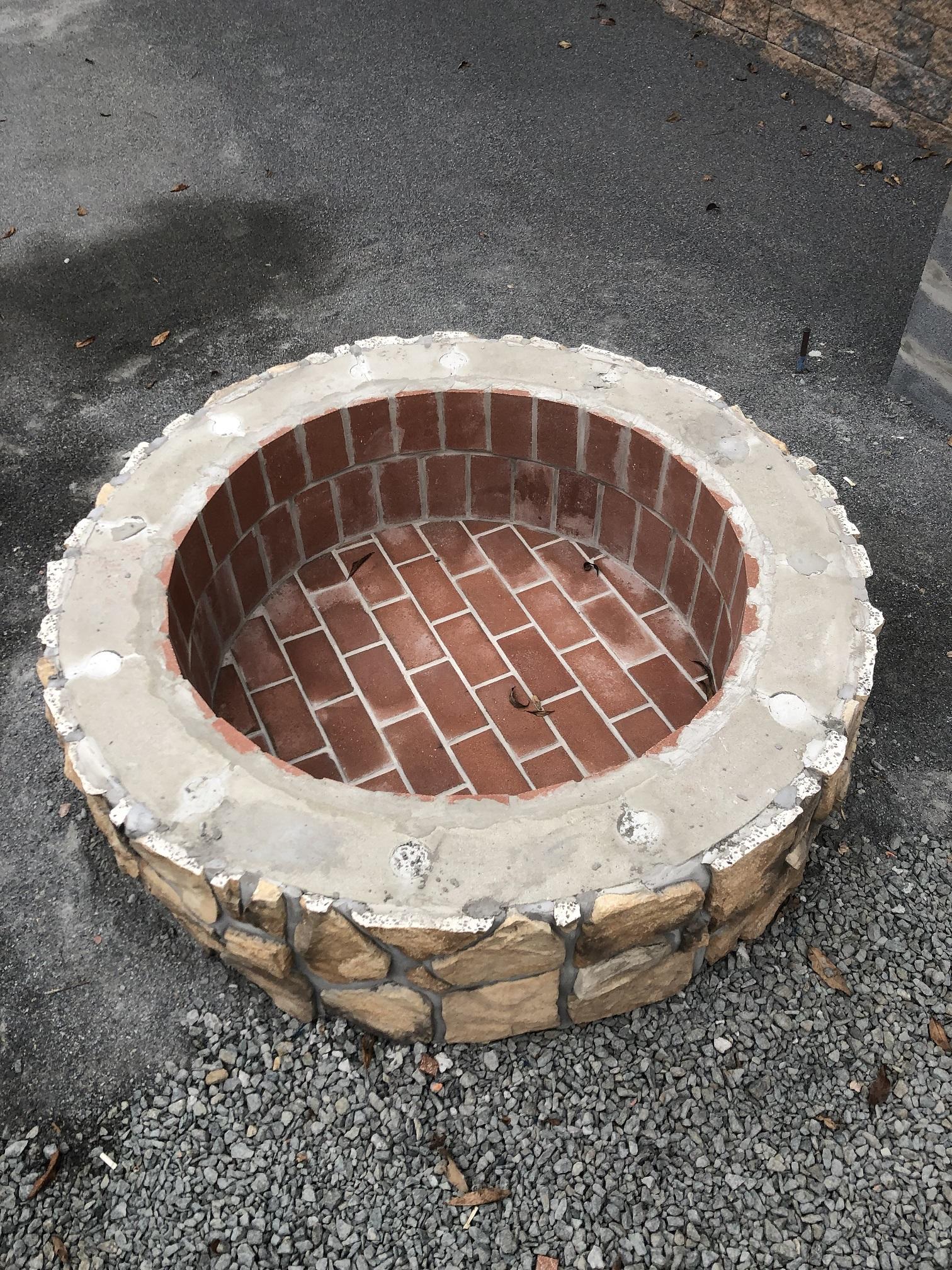 Fire Pit Install - Hackettstown NJ