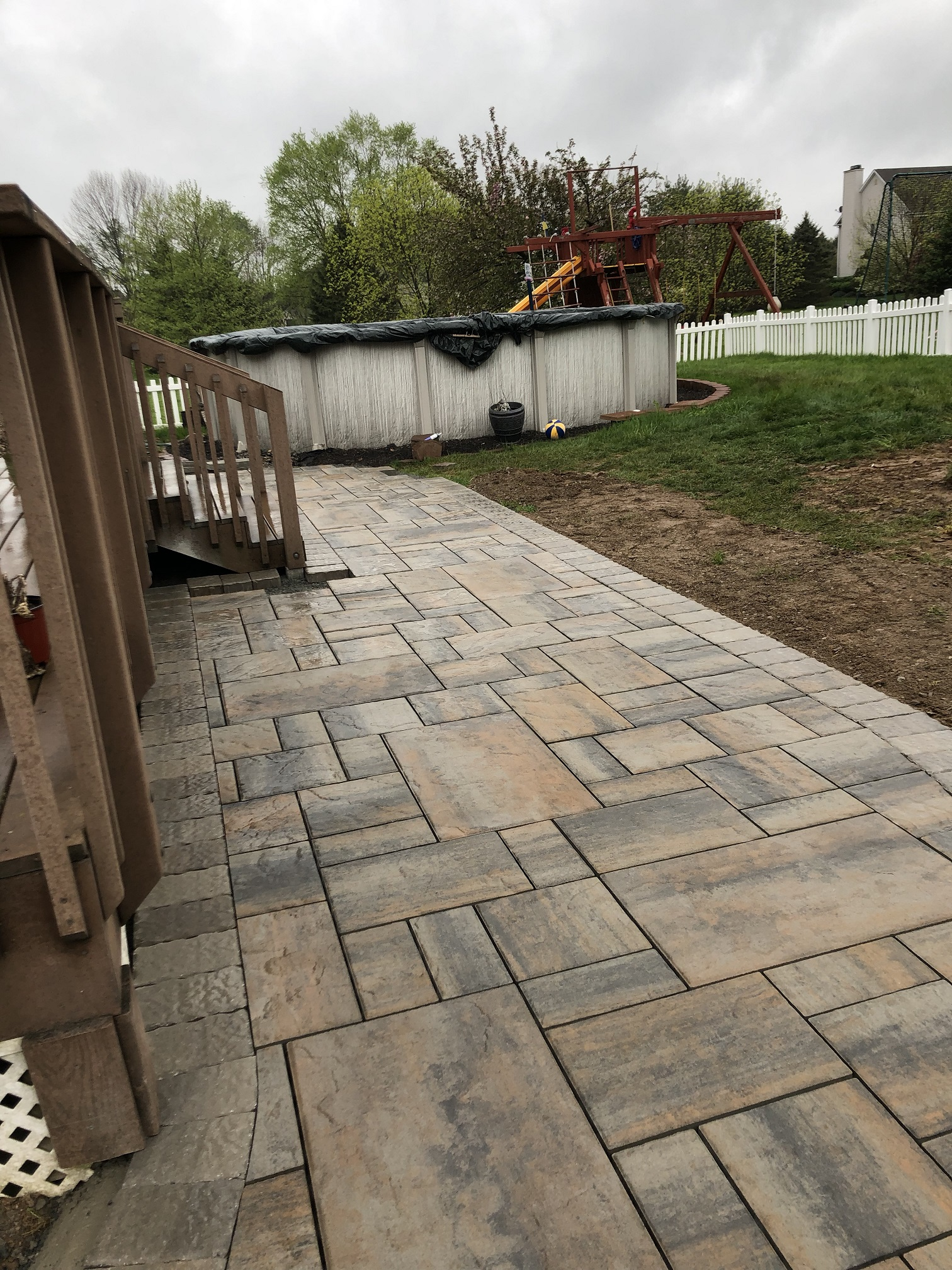Paver Walkway Installation – Roxbury NJ
