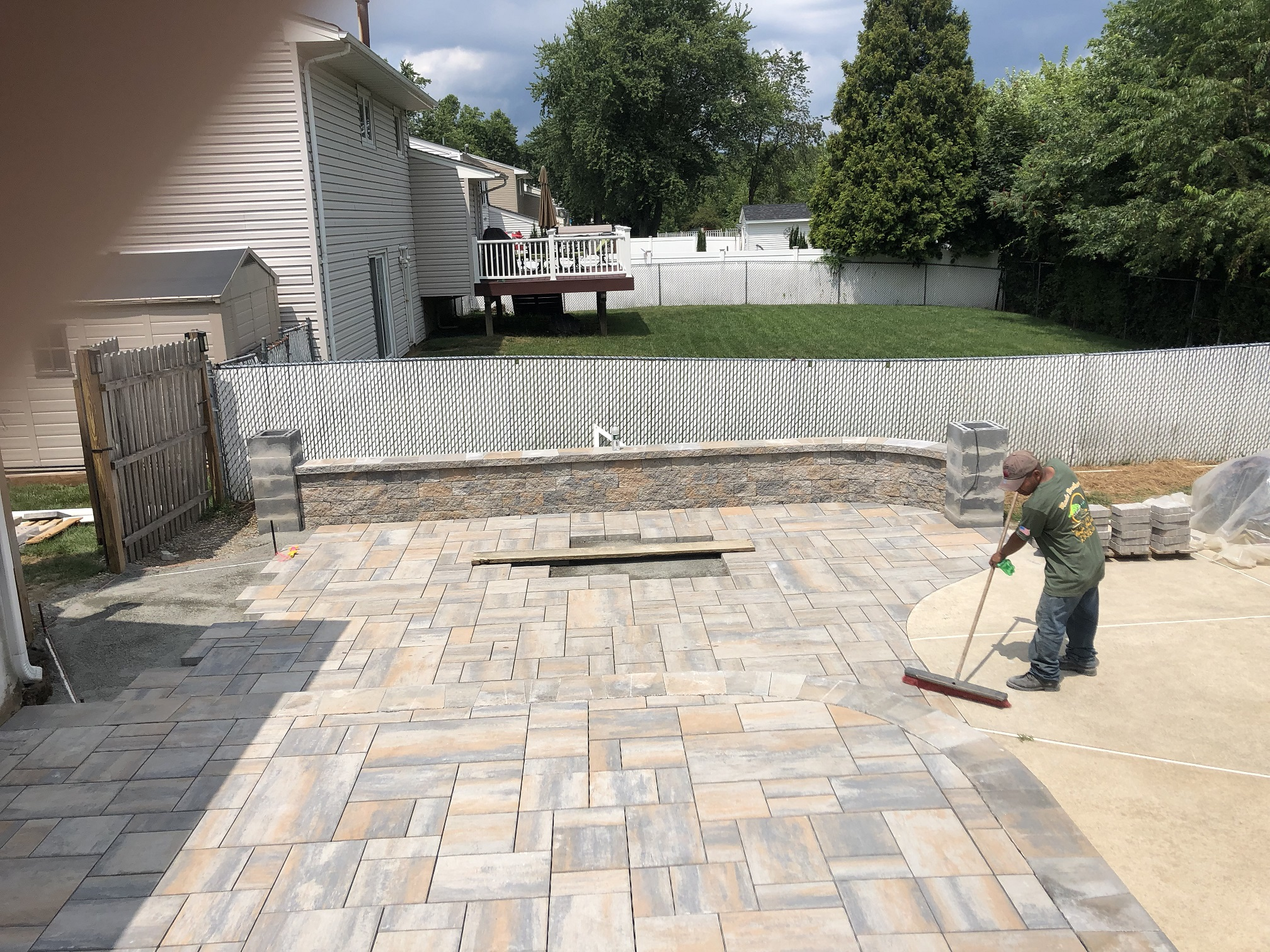 Paver Patio – Chester NJ
