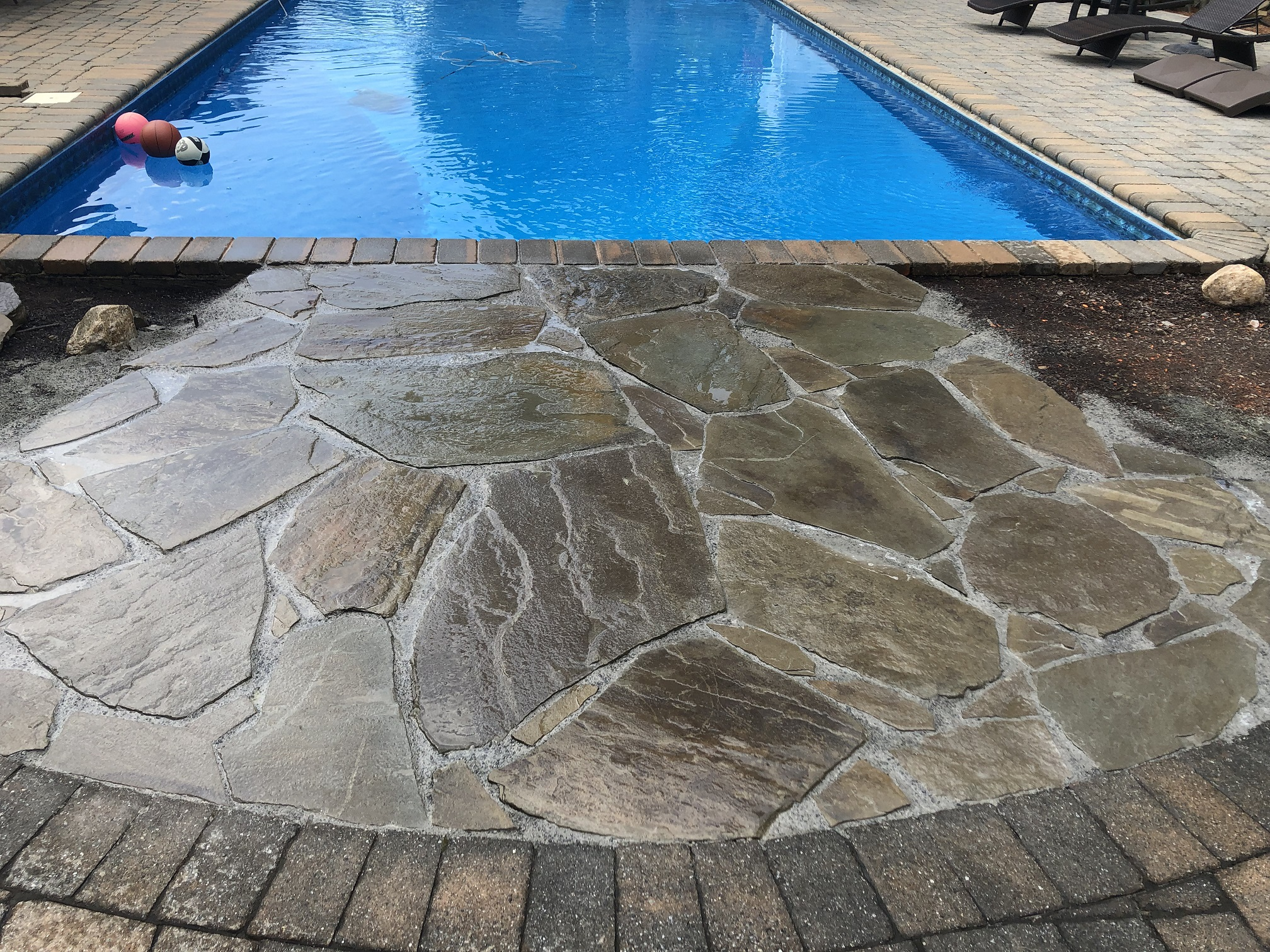 Poolscape - Pool Paver Install - Chester NJ
