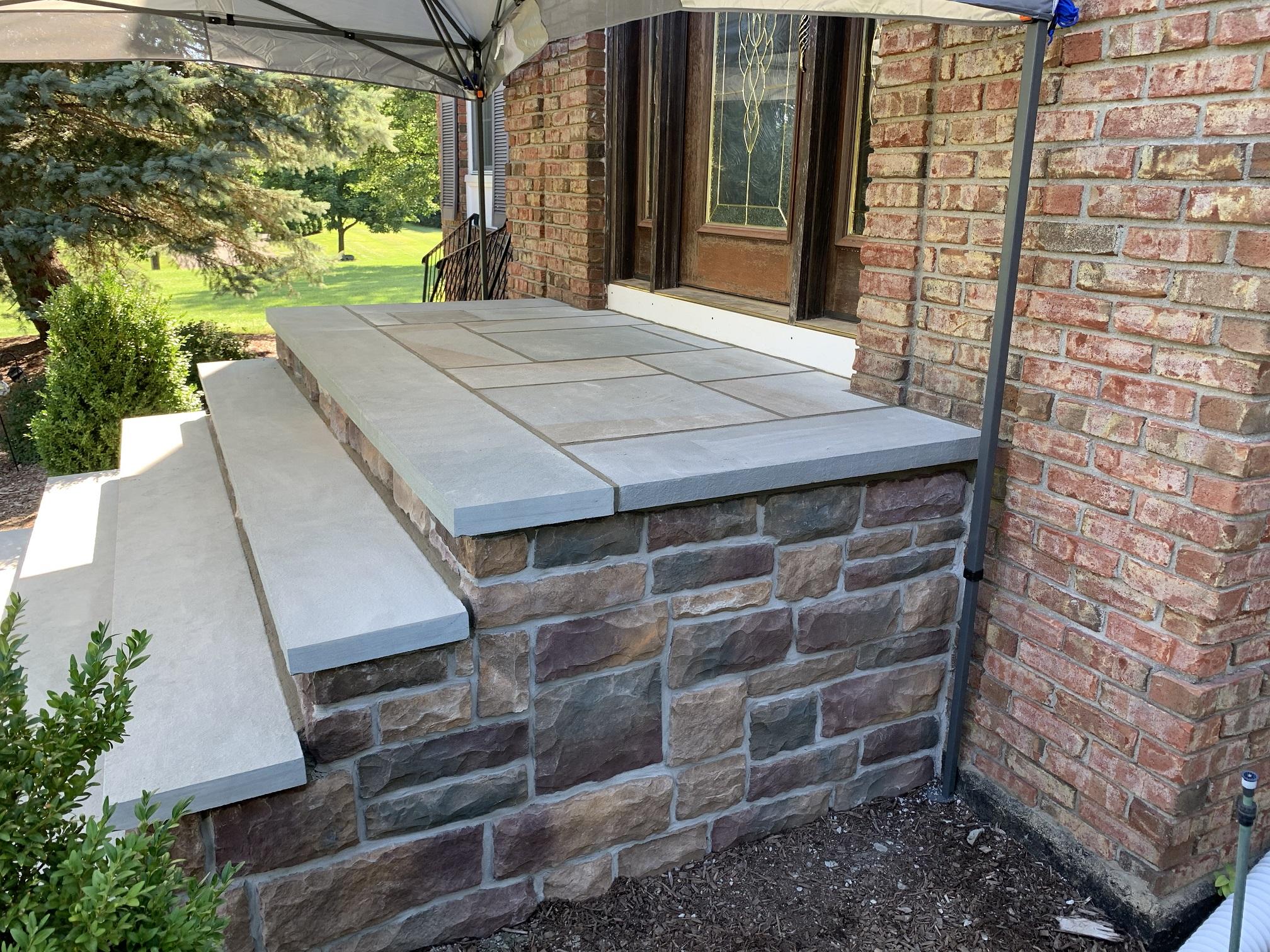 Stone Stair Install – Flanders NJ