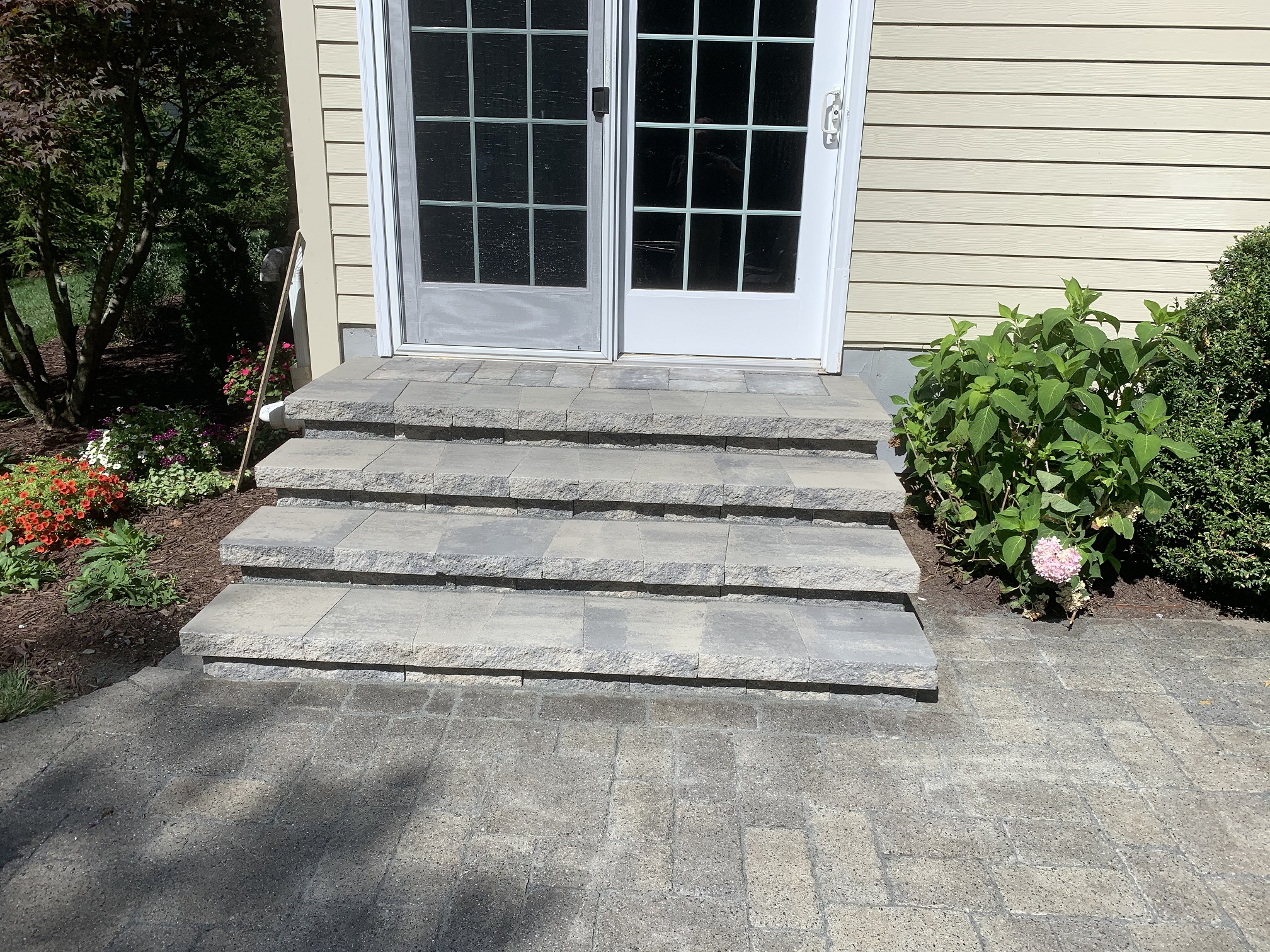 Stone Stair Installation – Long Valley NJ