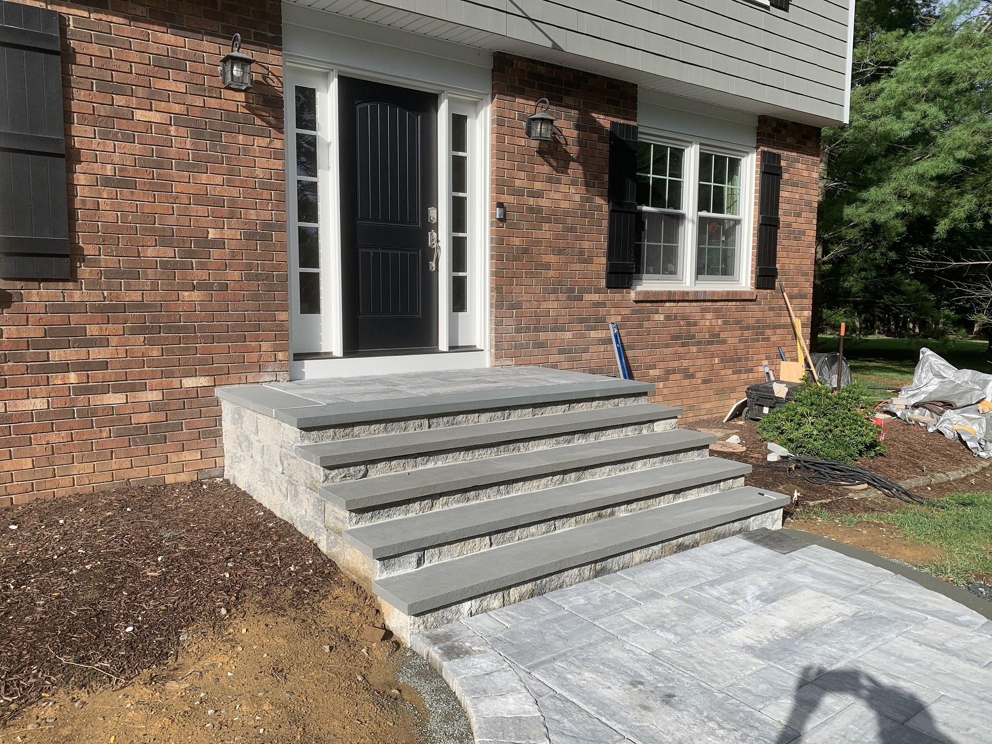 Stone stairs and walkway – Roxbury NJ
