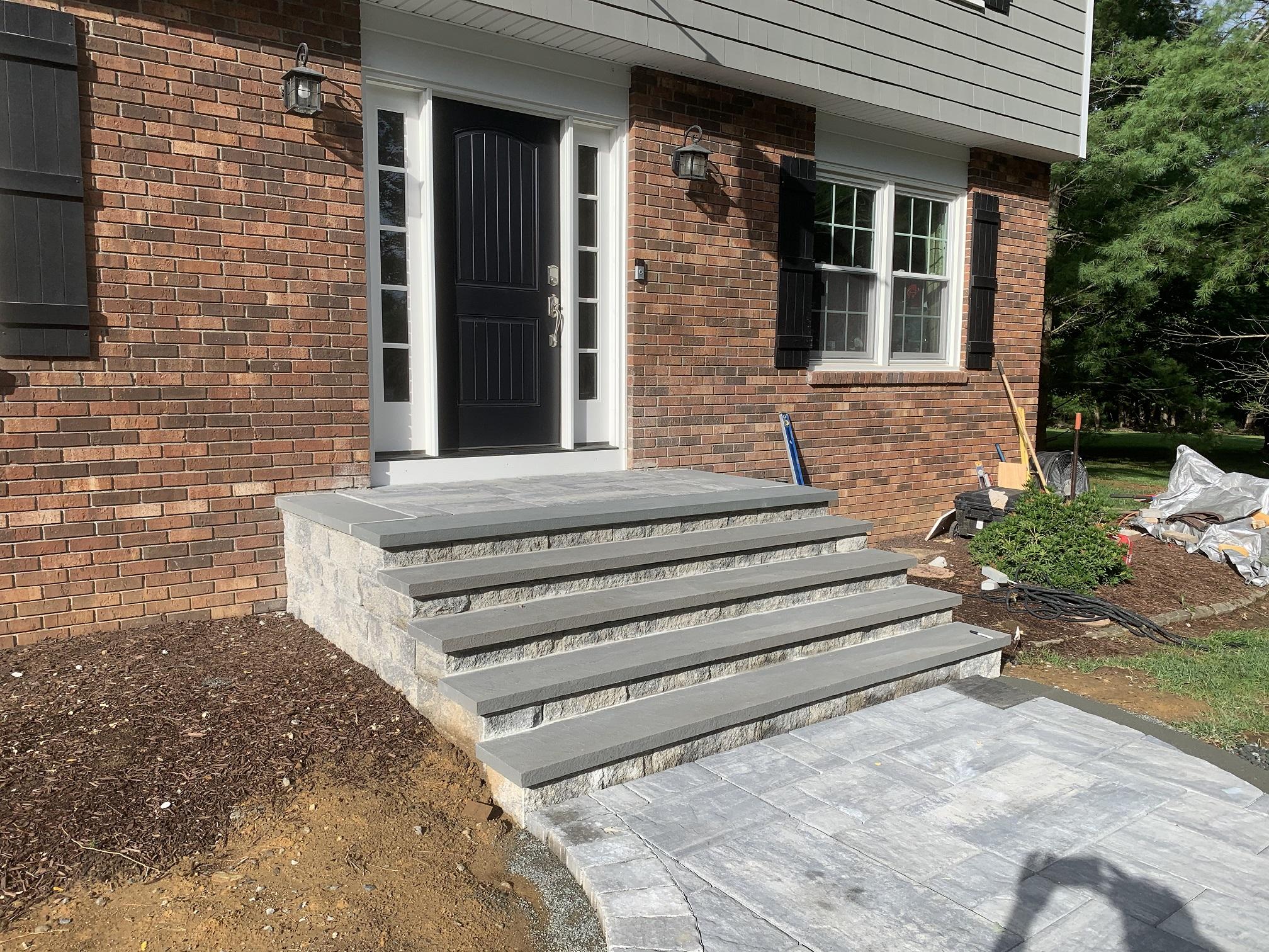 Stone stairs and walkway – Roxbury NJ