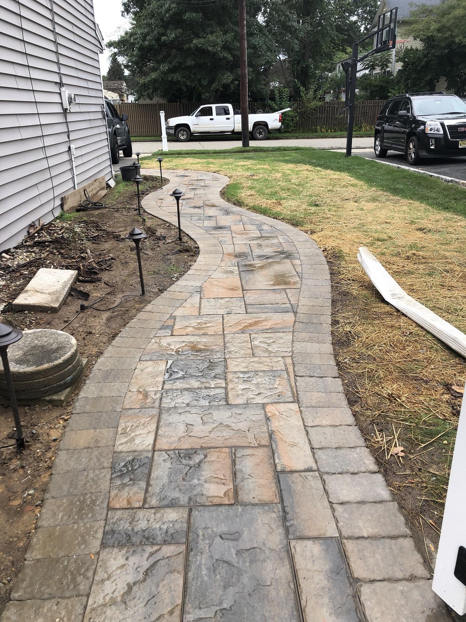 Walkway paver – Long Valley NJ