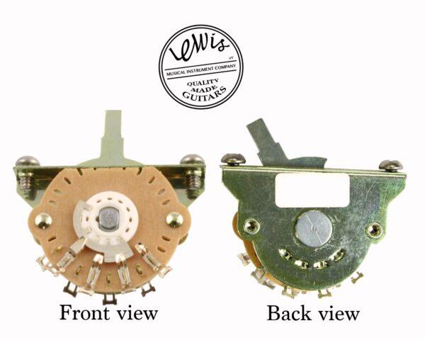 5-Way Oak Grigsby Blade Switch