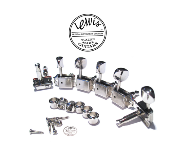 Gotoh SD91 Tuners 6 in line