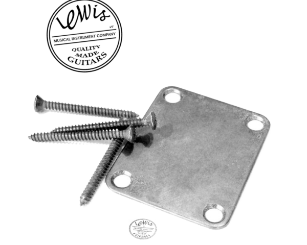 Neck plate with screws