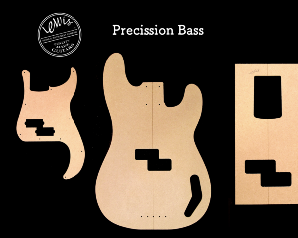 P-Bass style Template
