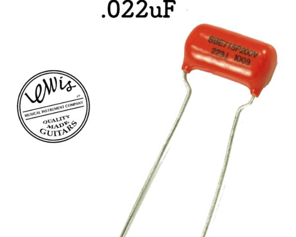 .022uF Orange Drop