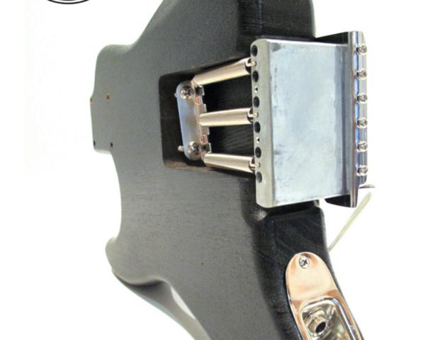 The Mini Strat Black Loaded Body