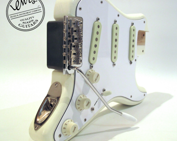 The Mini Strat Olympic White Loaded Body