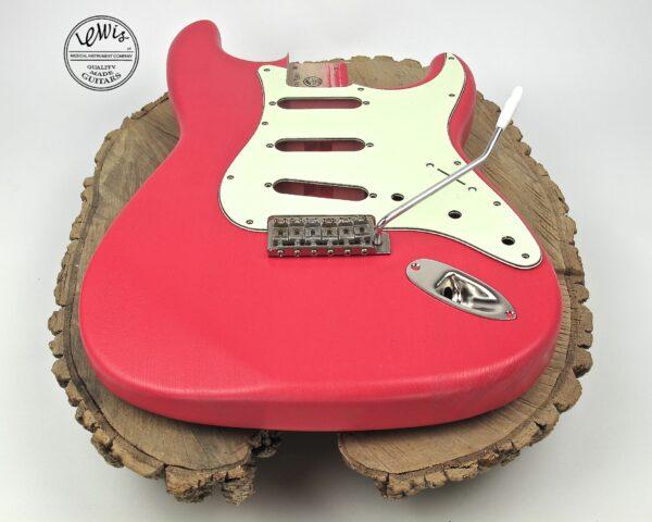 Fiesta Red Ash Body