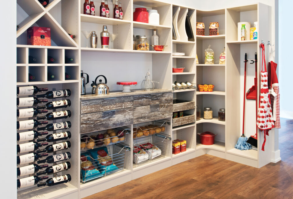 Vermont Closets & Storage Solutions - Pantry Install