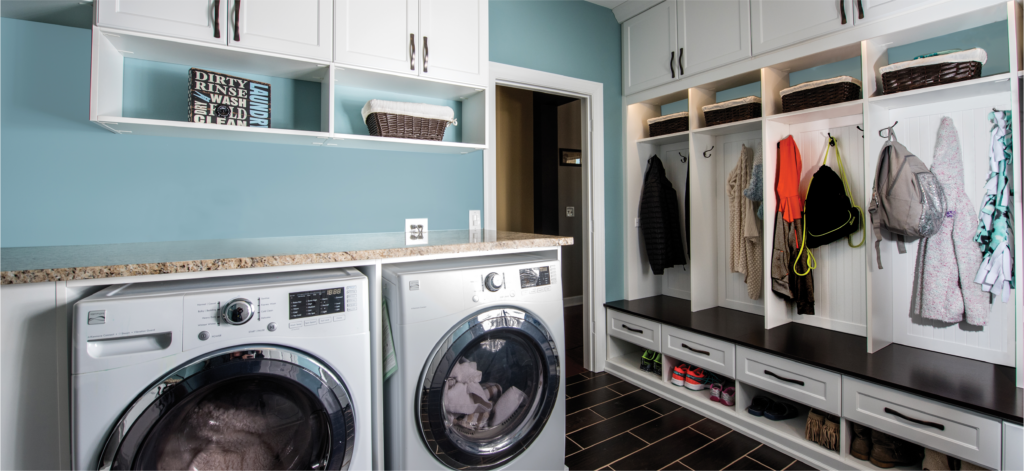 Mudrooms - Integrated Laundry Room