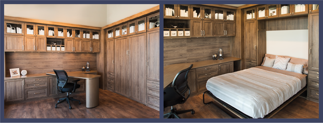 Home Office Space - Murphy Bed