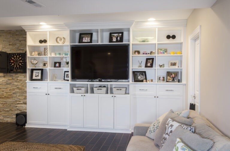 Entertainment Centers - Custom Storage Solutions
