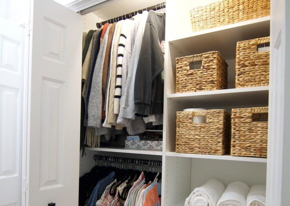 Custom Dream Reach in Closet
