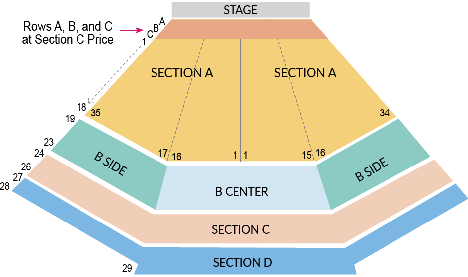 VW seating chart SCA