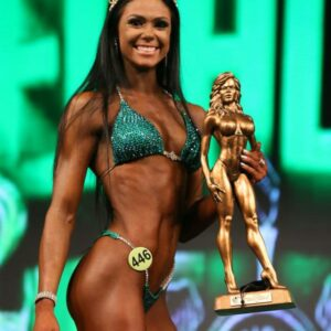 2019 Emerald Cup Bikini Overall Champion Jessica Roy - Team USA Physique