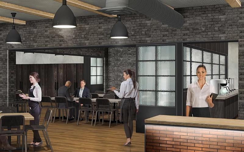 Center Café Renovation Reveal