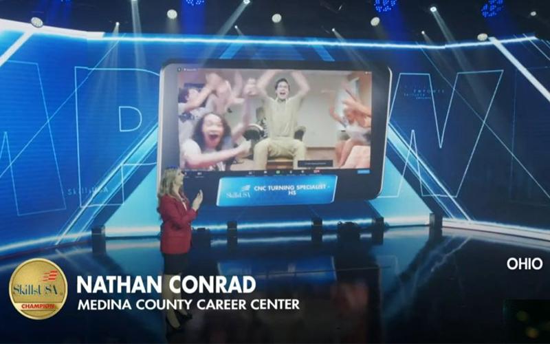 Nathan Conrad – National Gold Medal Winner!