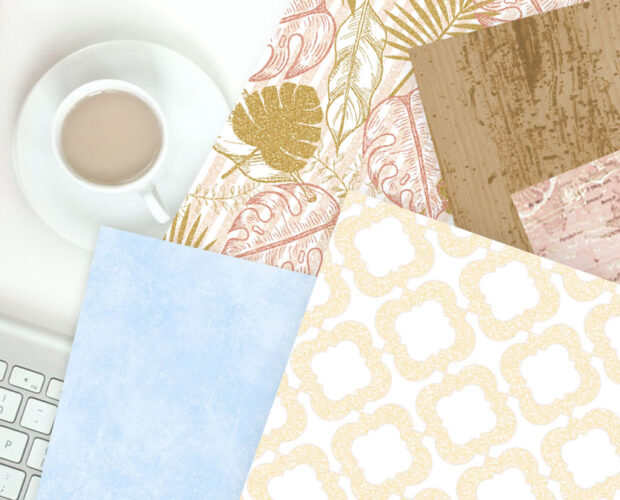 How to print digital scrapbook paper