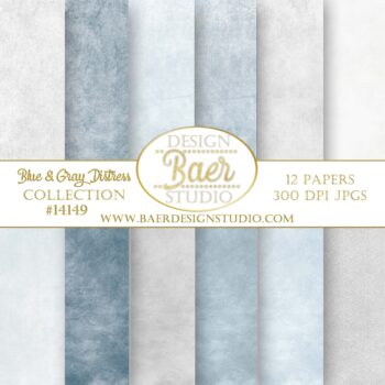 Dusty blue digital paper