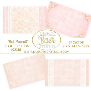 printable paper placemats