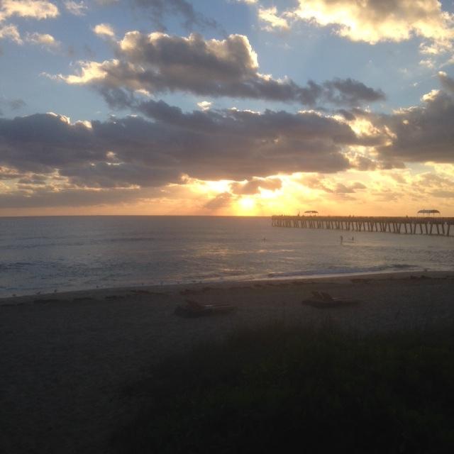 Lake Worth FL sunrise