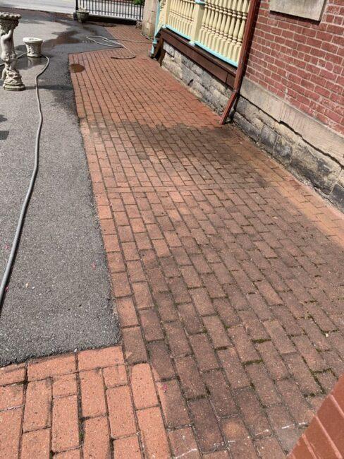 dirty & clean bricks