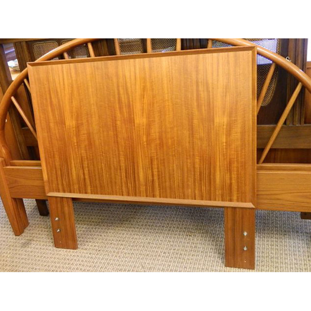 Twin Danish Modern Teak Headboard