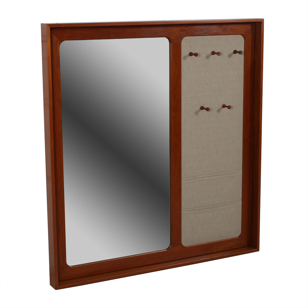 Huge Danish Modern Multi-Function Mirror – Aksel Kjersgaard