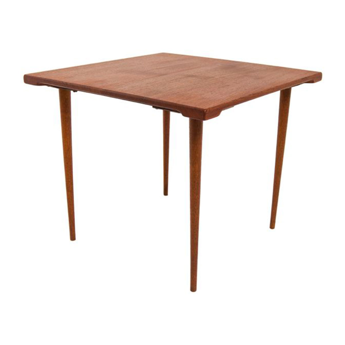 Peter Hvidt Solid Teak Mini Occasional Table
