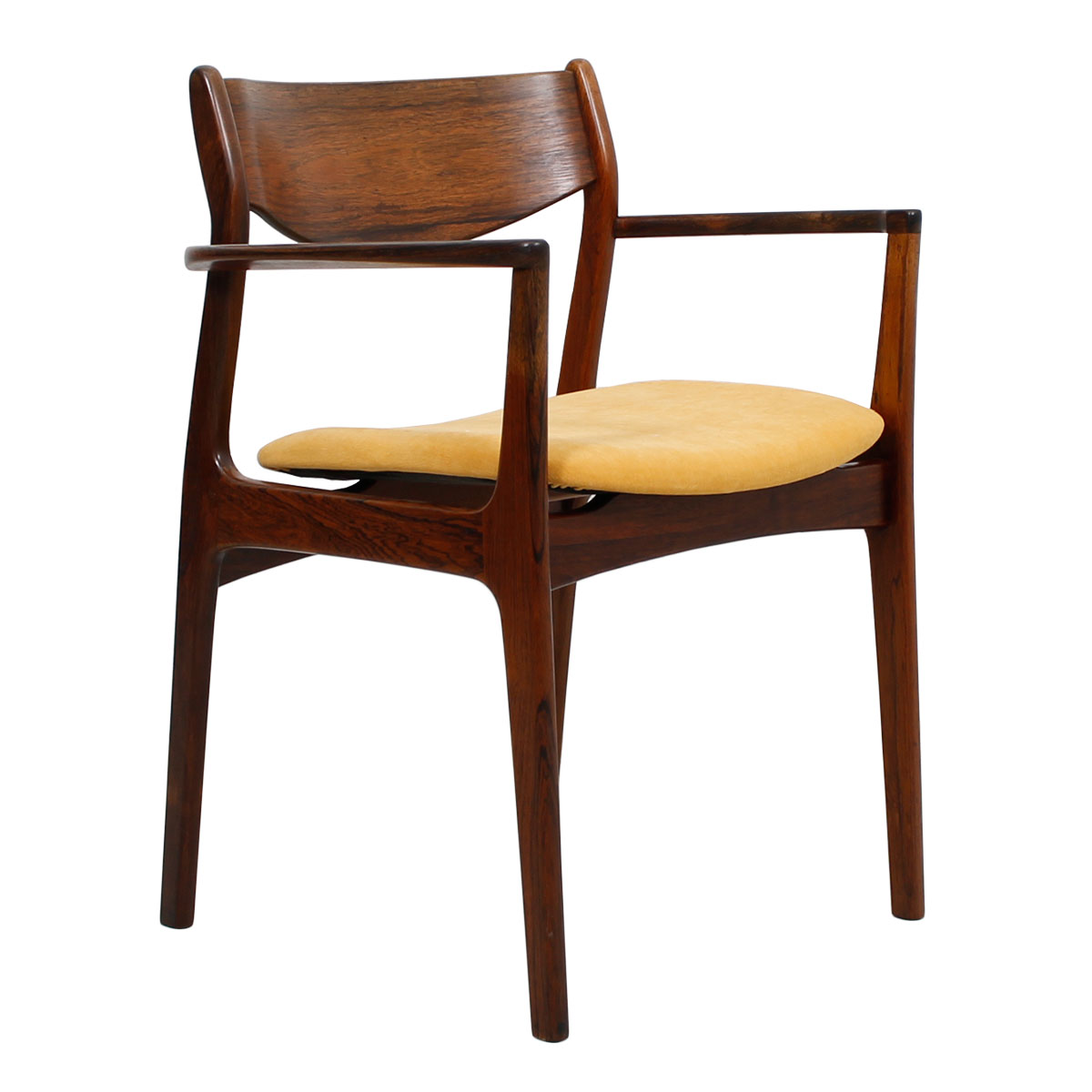 Danish Rosewood Accent Arm Chair