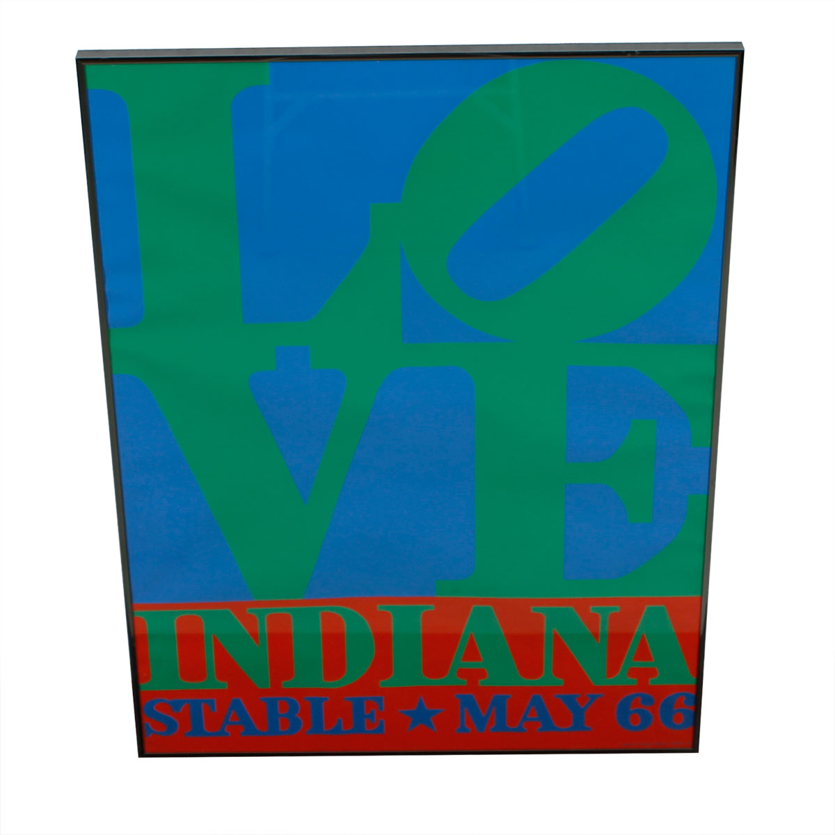 Robert Indiana LOVE Poster