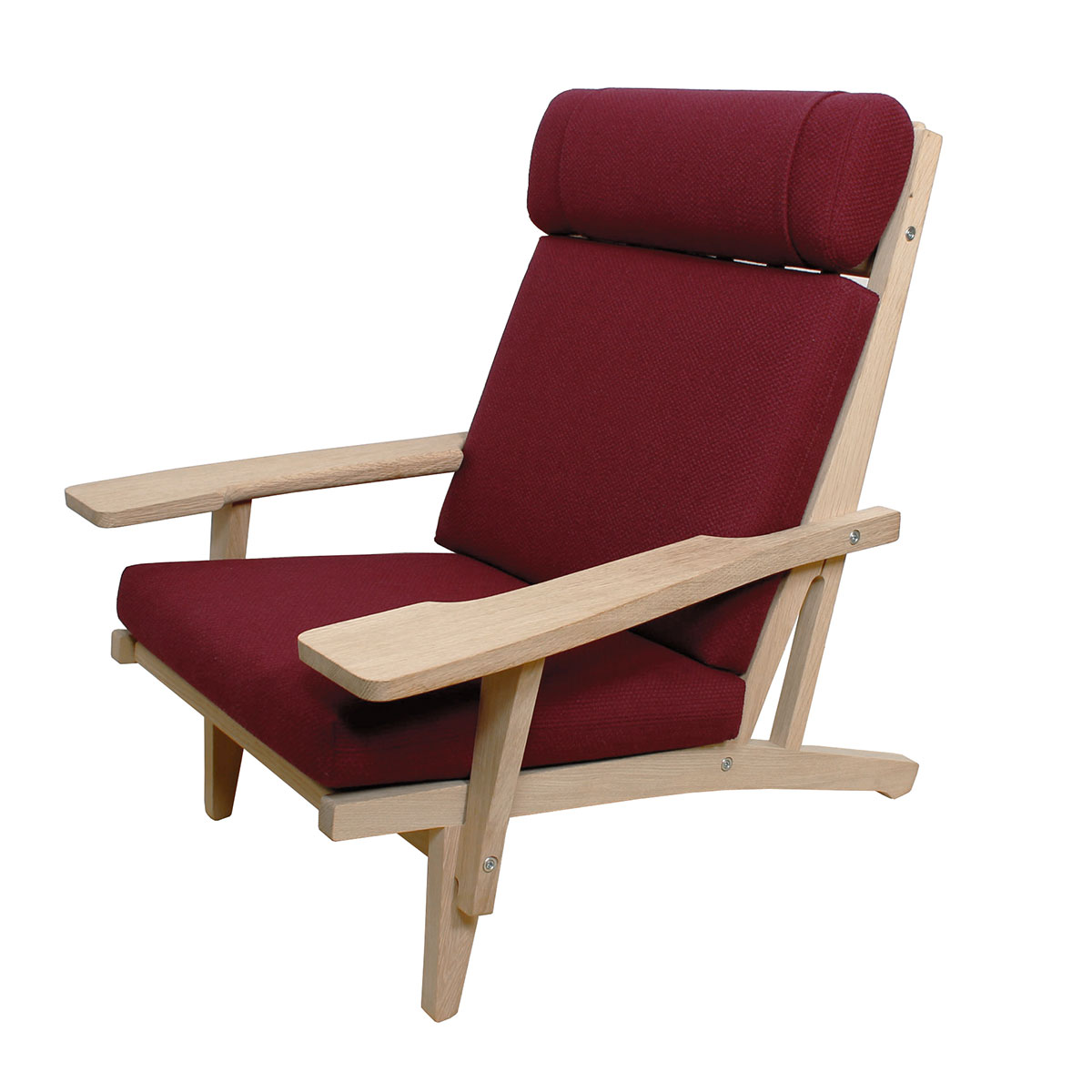 NEW Hans Wegner GE 375 High Back Easy Chair for GETAMA