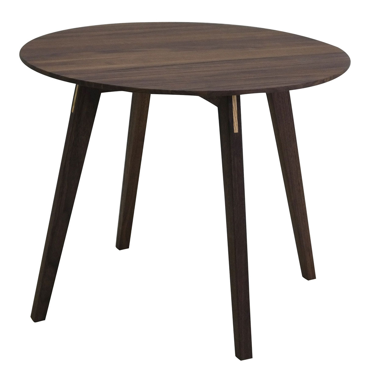 NEW Blum & Balle Circle Walnut Accent Table for GETAMA