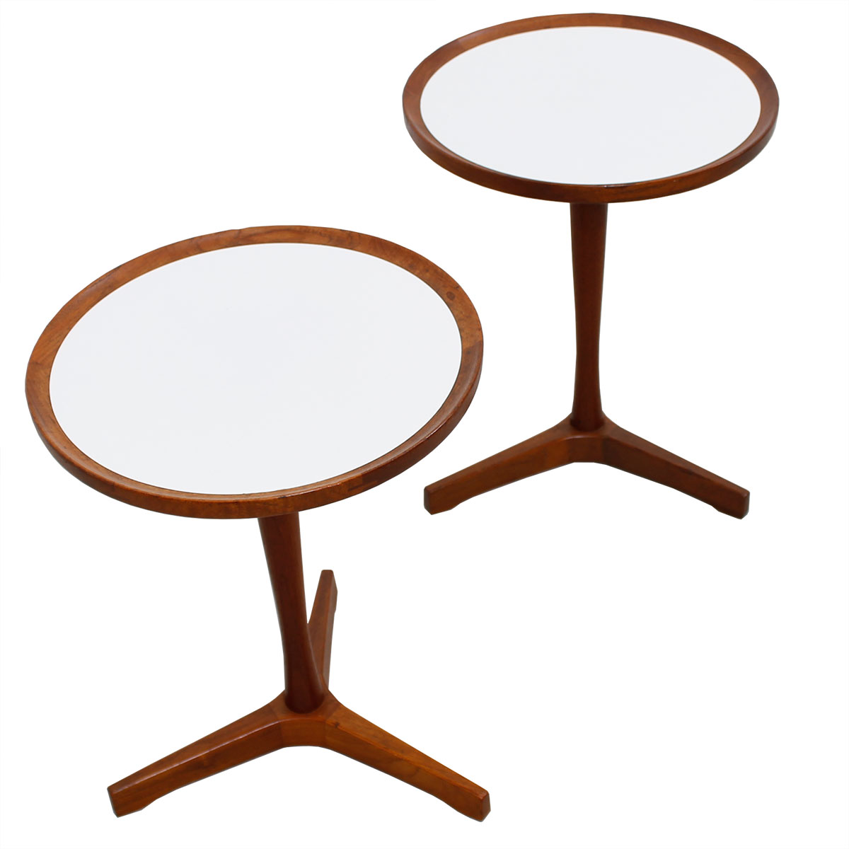 Pair of Hans C Andersen Accent / Cocktail Tables