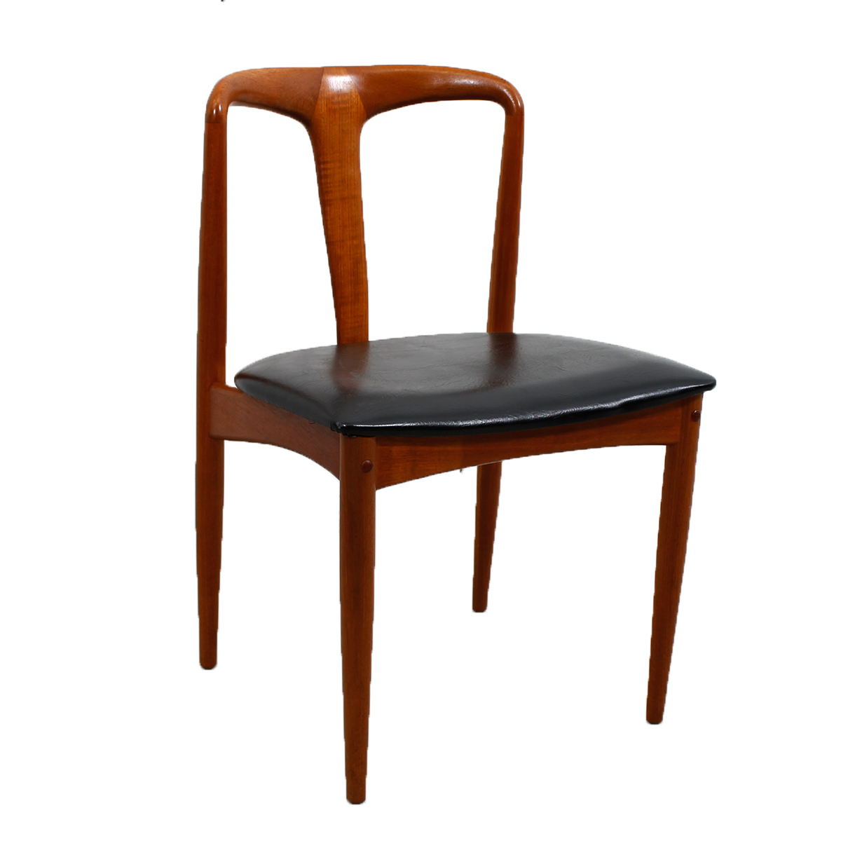 Set of Johannes Andersen for Uldum Møbelfabrik Juliane Teak Dining Chairs