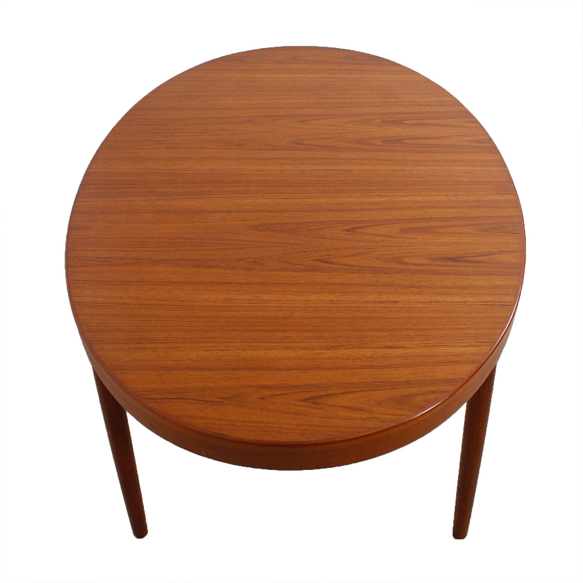 Harry Ostergaard for A/S Randers Expanding Oval Teak Table + PROTECTIVE PADS