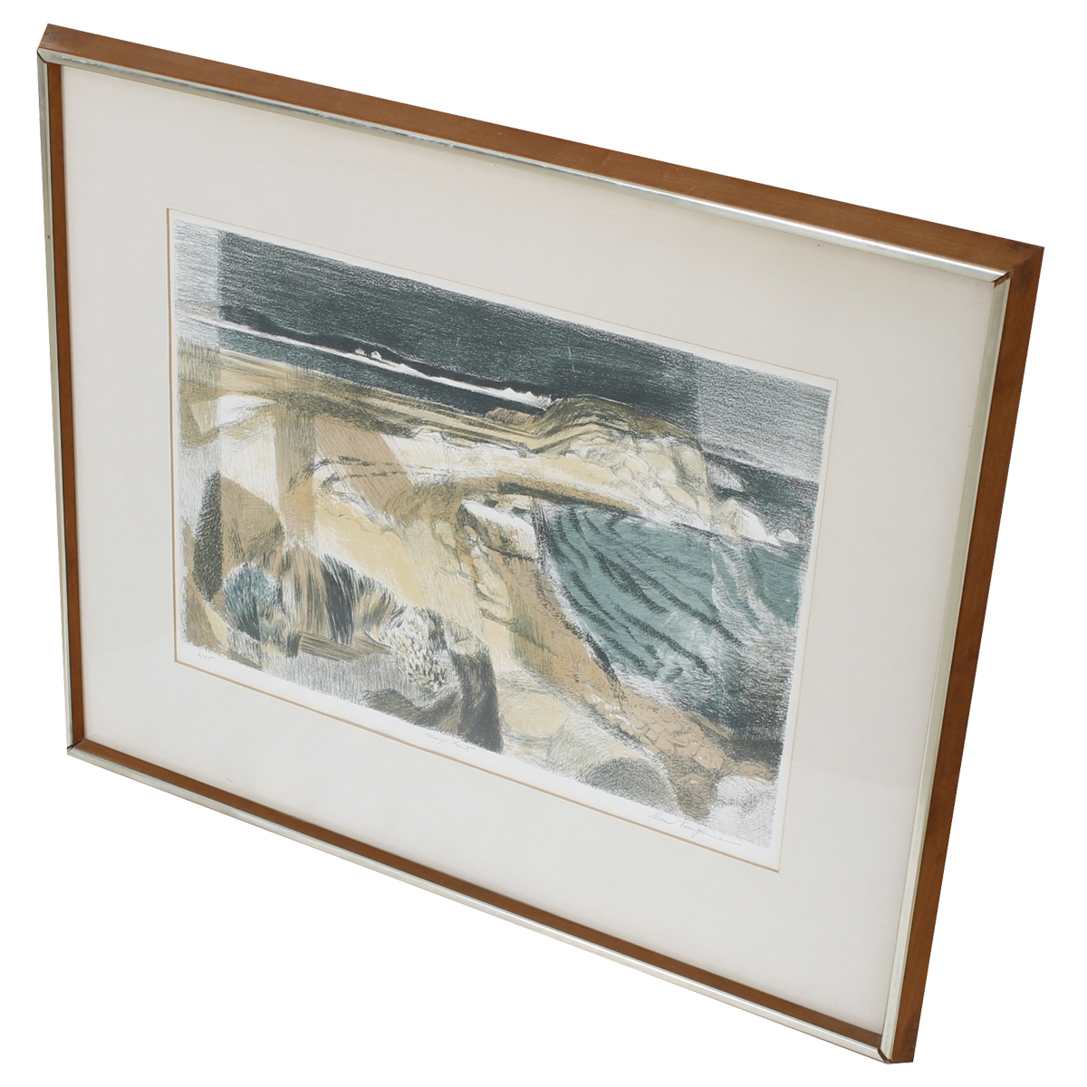 """""""Meigs Point"""" Lithograph by Alan Tompkins"""