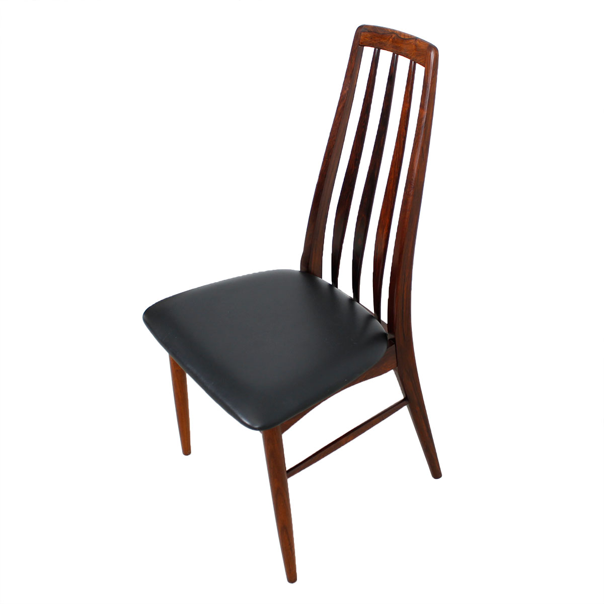 Stunning Set of 10 Koefoed Hornslet Danish Rosewood Dining Chairs