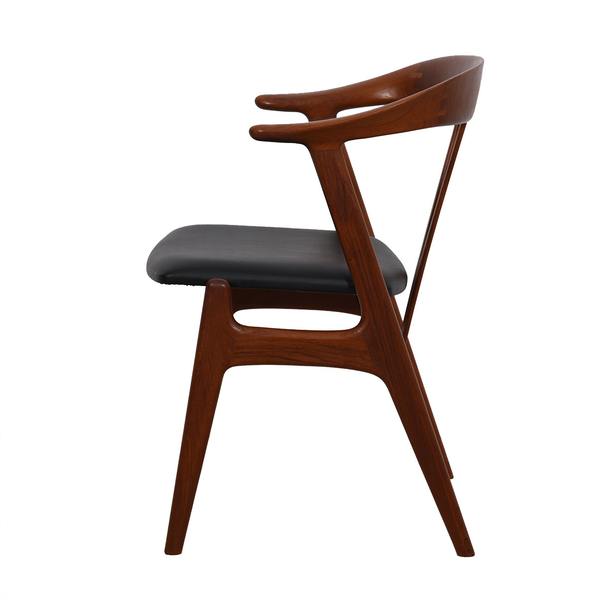 Torbjorn Afdal Rare Set of 6 Teak Dining Chairs