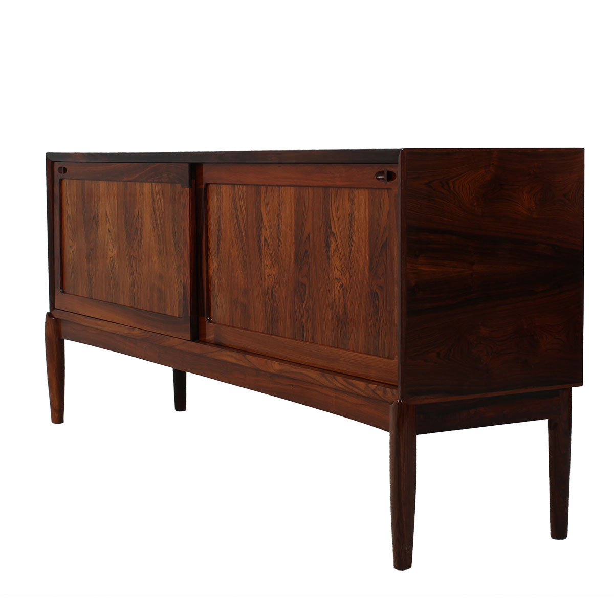 Rare Danish Modern Rosewood Sideboard by H.W. Klein — Superb!