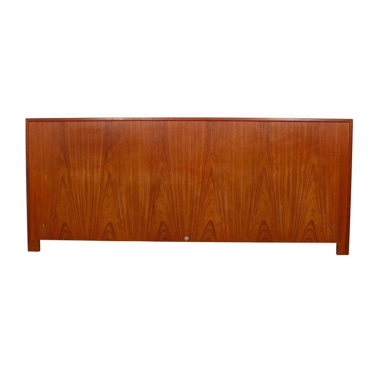 Danish Modern King-sized Headboard in Teak by Falster