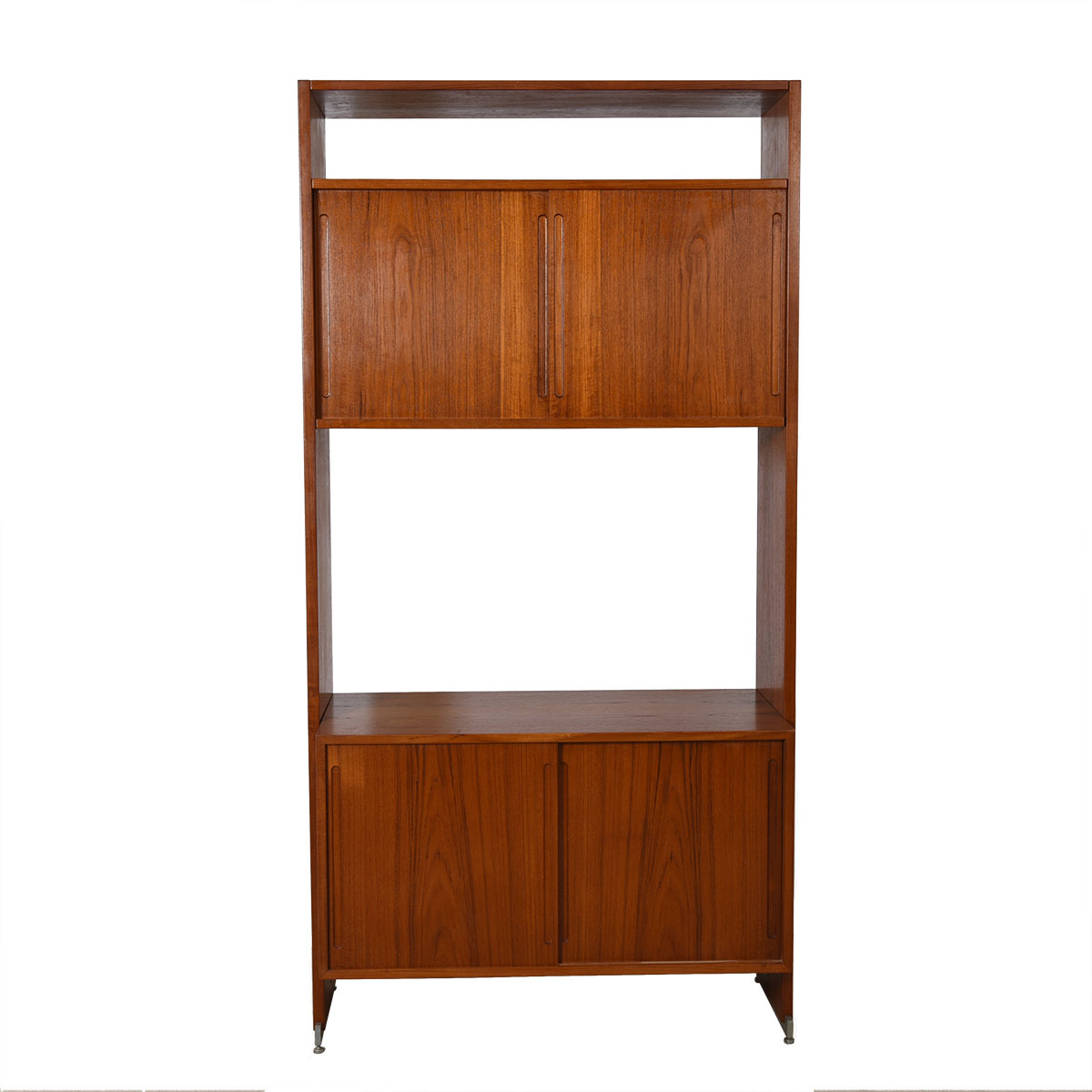 Hans Wegner Danish Teak Single Column Wall Unit / Room Divider