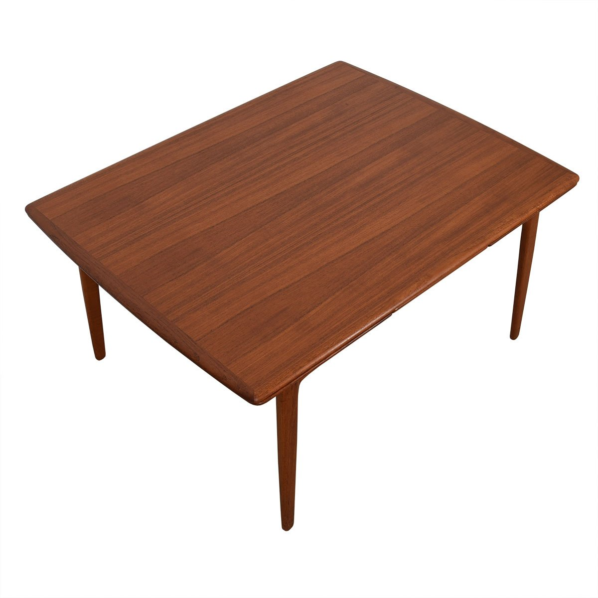Kofod-Larsen Deep Danish Modern Teak Expanding Dining Table