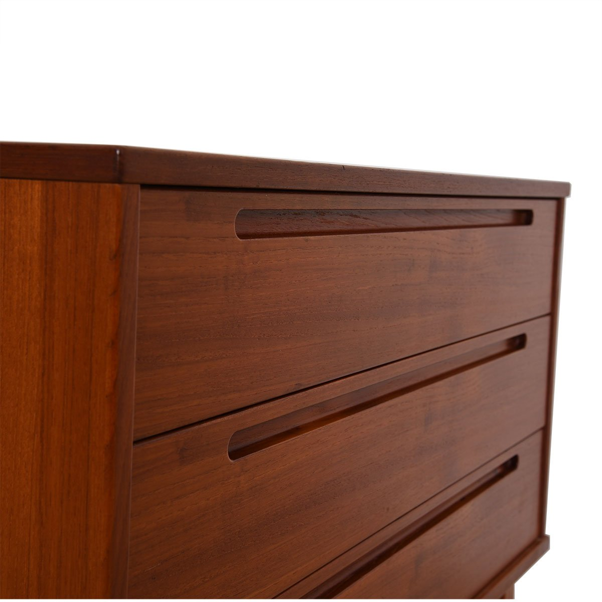 Torring Danish Modern Teak 3-Drawer Chest / Night Stand