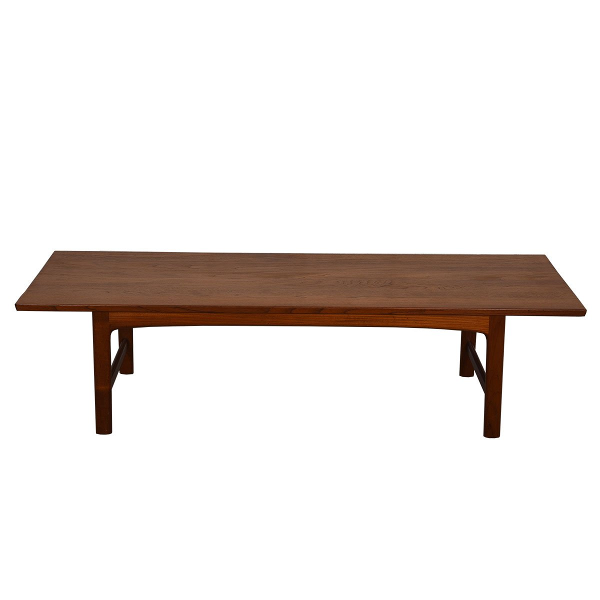 Danish Modern Solid Teak Cocktail Table